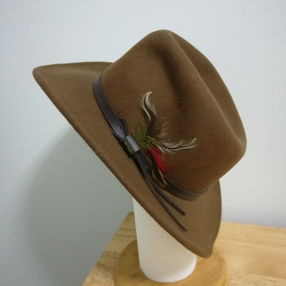 f1662dc83fc244 Scala Accessories | Outback Wool Hat | Poshmark